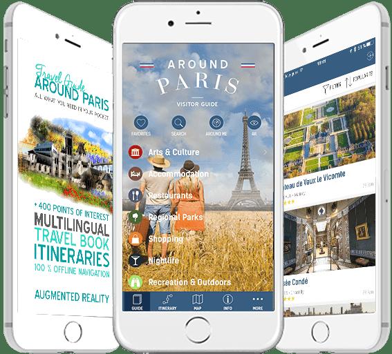 AROUND PARIS – TRAVEL APP